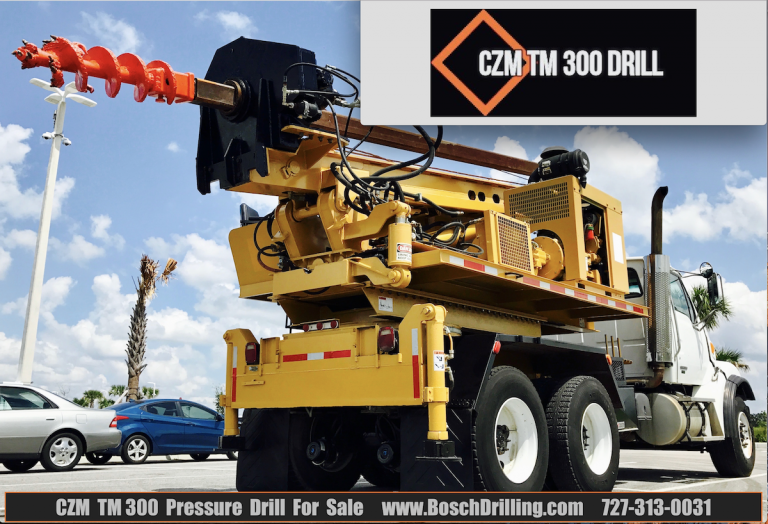 Pressure Digger CZM TM300 For Sale