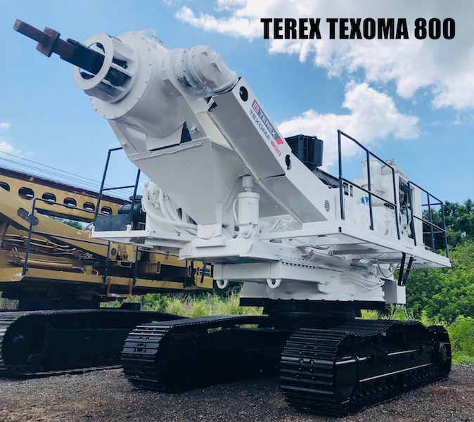 Terex Texoma 800 For Sale