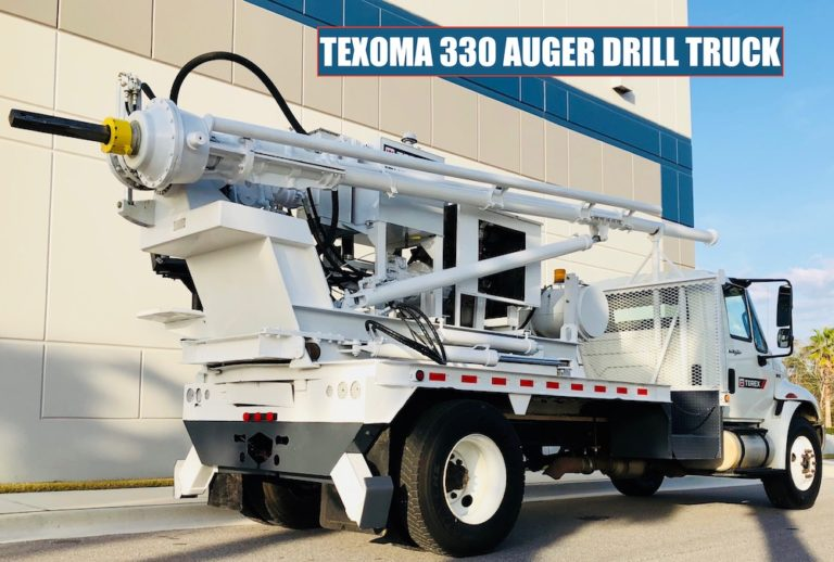 Texoma 330 Auger Drill Truck